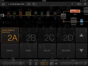 Screenshot of Preset Layout in Bias FX